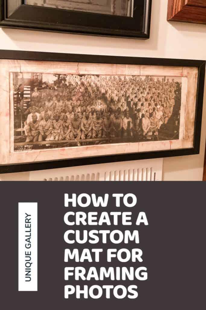 How to Create a Custom Mat for Framing Photos