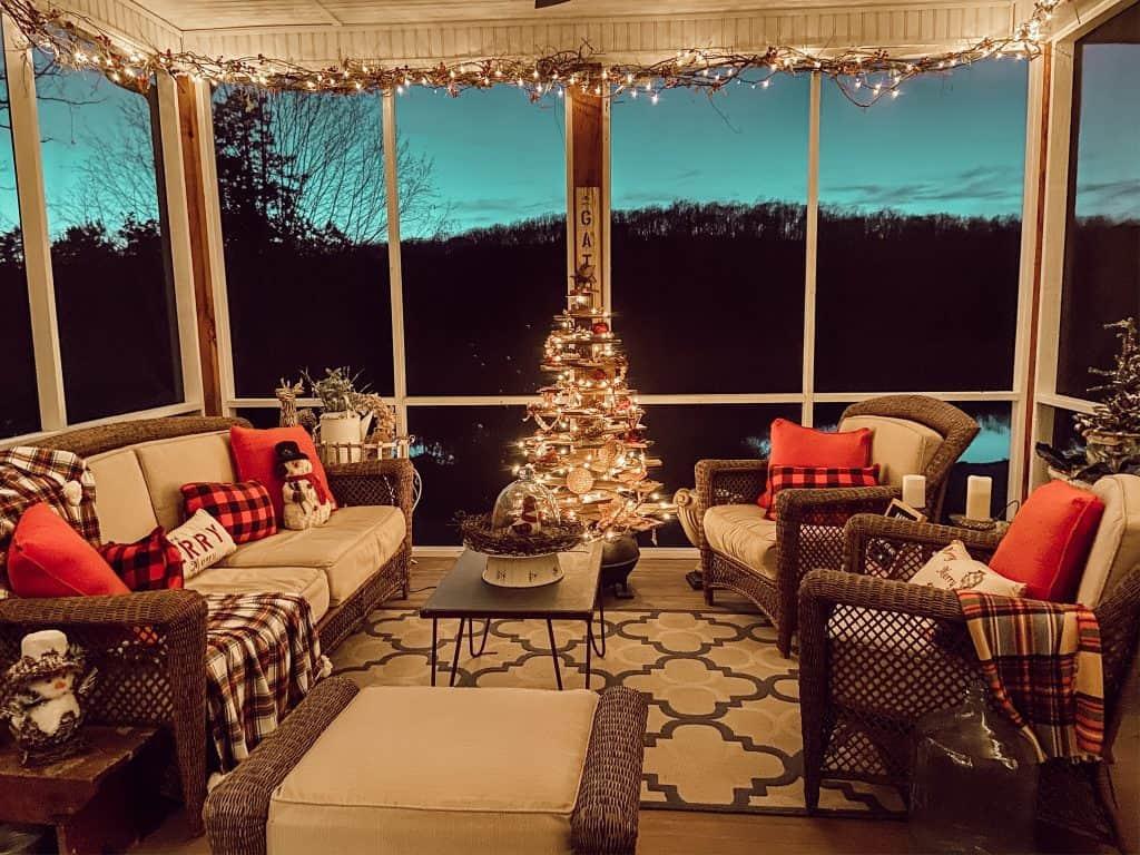 Screened Porch Christmas Decor Tips