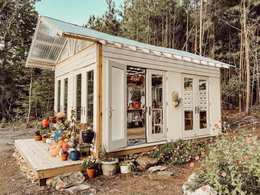 DIY Greenhouse Fall Tour