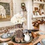 DIY Hydrangea & Twig Flower Project