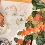 Fall Craft - Plaster Leaves DIY
